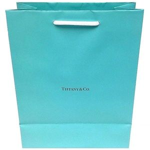 Authentic Tiffany & Co. Paper Gift Bag